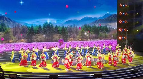 吉林省广场舞代表队参加全国广场舞北京集中展演活动