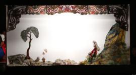 吉林非遗节望奎皮影演出观众爆满 小小纸片人竟有如此吸引力(缩略图)