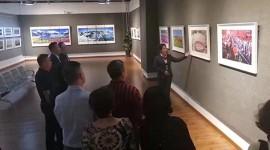 """(缩略图)庆祝中华人民共和国成立70周年""""光辉历程·时代记忆""""大型图片展在省文化馆举办"""