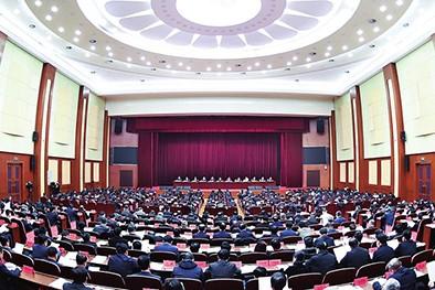 (缩略图)省委经济工作会议在长春召开