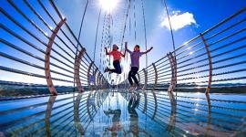 (缩略图)五一假期,龙井旅游项目丰富花样繁多