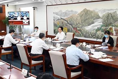 (缩略图)省安委会召开2020年第二次全体(扩大)会议暨全省安全生产专项整治三年行动推进工作视频会议