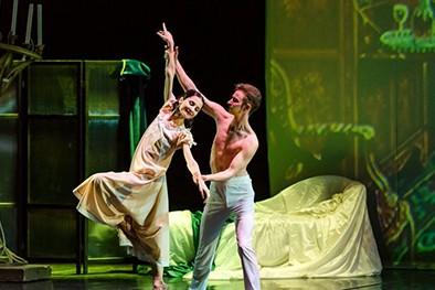 """(缩略图)脚尖上的经典 芭蕾舞剧《安娜•卡列尼娜》亮相精彩夜吉林""""云剧场"""""""