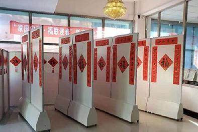 (缩略图)长春市宽城区文旅局举办文化惠民送春联活动