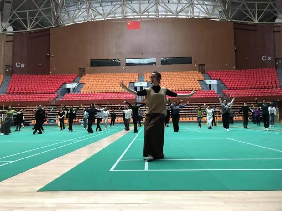 2021吉林省公共文化培训工程广场舞培训班成功举办01
